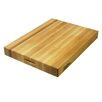 "BoosBlock Commercial 2 1/4"" Maple Cutting Board"