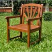 Acacia Patio Sapporo Patio Dining Arm Chair