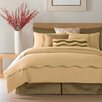 Flow Silk Duvet Cover in Bronze