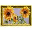 Giant Sunflowers Rug