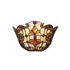 Floral 1 Light Leland Wall Sconce