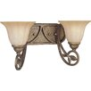 Le Jardin 2 Light Vanity Light