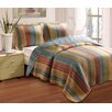 Katy 3 Piece Quilt Set - King