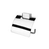 BloQ Wall Mounted Toilet Paper Holder in Chrome