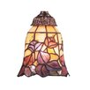 "Mix-N-Match 5.25"" Leaf Design Glass Shade"