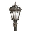 Tournai 4 Light Outdoor Post Lantern