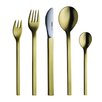 Mono-A Edition 50 Collection, Goldplated 5-Piece Set by Peter Raacke