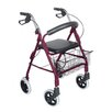 "Lightweight Aluminum Rollator with 8"" Wheels"