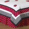 Little Ladybug Queen Bed Skirt