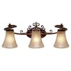 Loretto 3 Light Bath Vanity Light