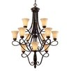 Torbellino 12 Light Chandelier