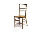 Chiavari Chair in Gold with Optional Cushion
