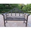 King Louis Aluminum Garden Bench
