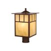 Mission 1 Light Outdoor Post Lantern