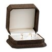 "Majestic 2"" High Hoop Earring Jewelry Box"