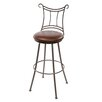 "Waterbury 25"" Swivel Counter Height Barstool"