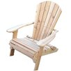 Phat Tommy Folding Wide Cedar Adirondack Chair
