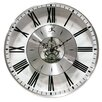 Paragon Wall Clock in Silver