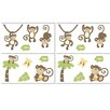 Monkey Time Removable Wall Decals