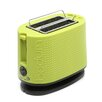 Bistro Two Slice Green Toaster with Cool Touch Exterior