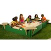 10' Rectangular Sandbox with Cover
