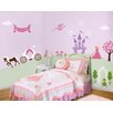 Perfectly Princess Self-Adhesive Wall Stencil Kit