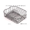 Drainer Basket with Holder in White