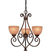 Caspian 5 Light Mini Chandelier