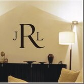Classic Monogram Wall Decal