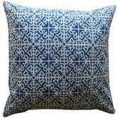 Malibu Outdoor Floor Decorative Pillow in Blue
