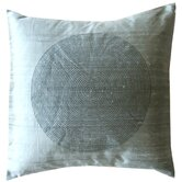 Spiral Decorative Pillow in Metallic