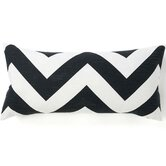 African Zag Linen Pillow