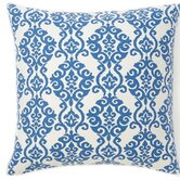 Luminari Cotton Pillow in Blue