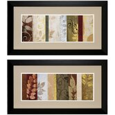 Warm June I / II Framed Art (Set of 2)
