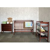 Ava Complete 4-in-1 Convertible Crib Set