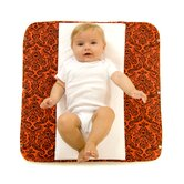 The Plush Pad Memory Foam Changing Pad in Salsa
