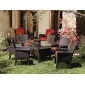 Santa Barbara 7 Piece Dining Set