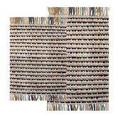 Stone Harbor Piece Chindi Accent Aquamarine Rug Set