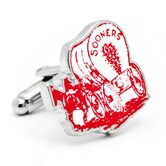 NCAA Vintage Oklahoma University Sooners Cufflinks