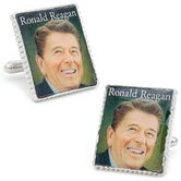 Ronald Reagan Stamp Cufflinks