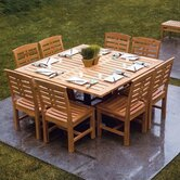 Mandalay 9 Piece Dining Set