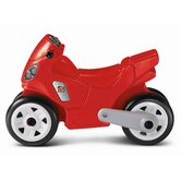 Motorcycle Ride-On Toy in Red
