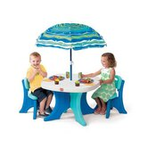 Kids' 4 Piece Play and Shade Patio Set