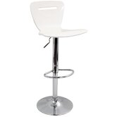 "H2 23"" Barstool in White"