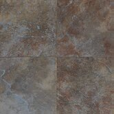 Continental Slate 18&quot; x 18&quot; Field Tile in Tuscan Blue