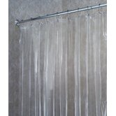 Vinyl Shower Curtain/Liner in Clear