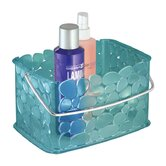 Pebblz Shower Caddy with Chrome Handle