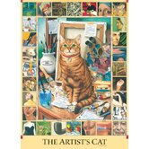 The Artist's Cat - 1000 Piece Puzzle