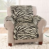 Zebra Quick Club Chair Slipcover