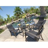 Escape 5 Piece Woven Dining Set